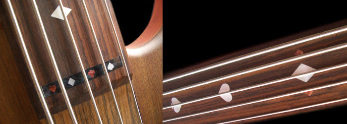 Playing Cards - Fret Markers for Fretless Bass - Inlay Stickers Jockomo