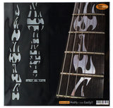 Fire Flames Fret Markers Inlay Stickers Guitar
