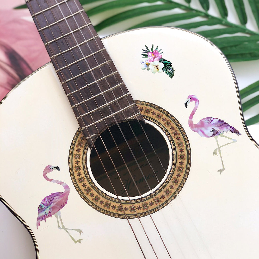 Tropical Flamingos - Inlay Stickers Jockomo