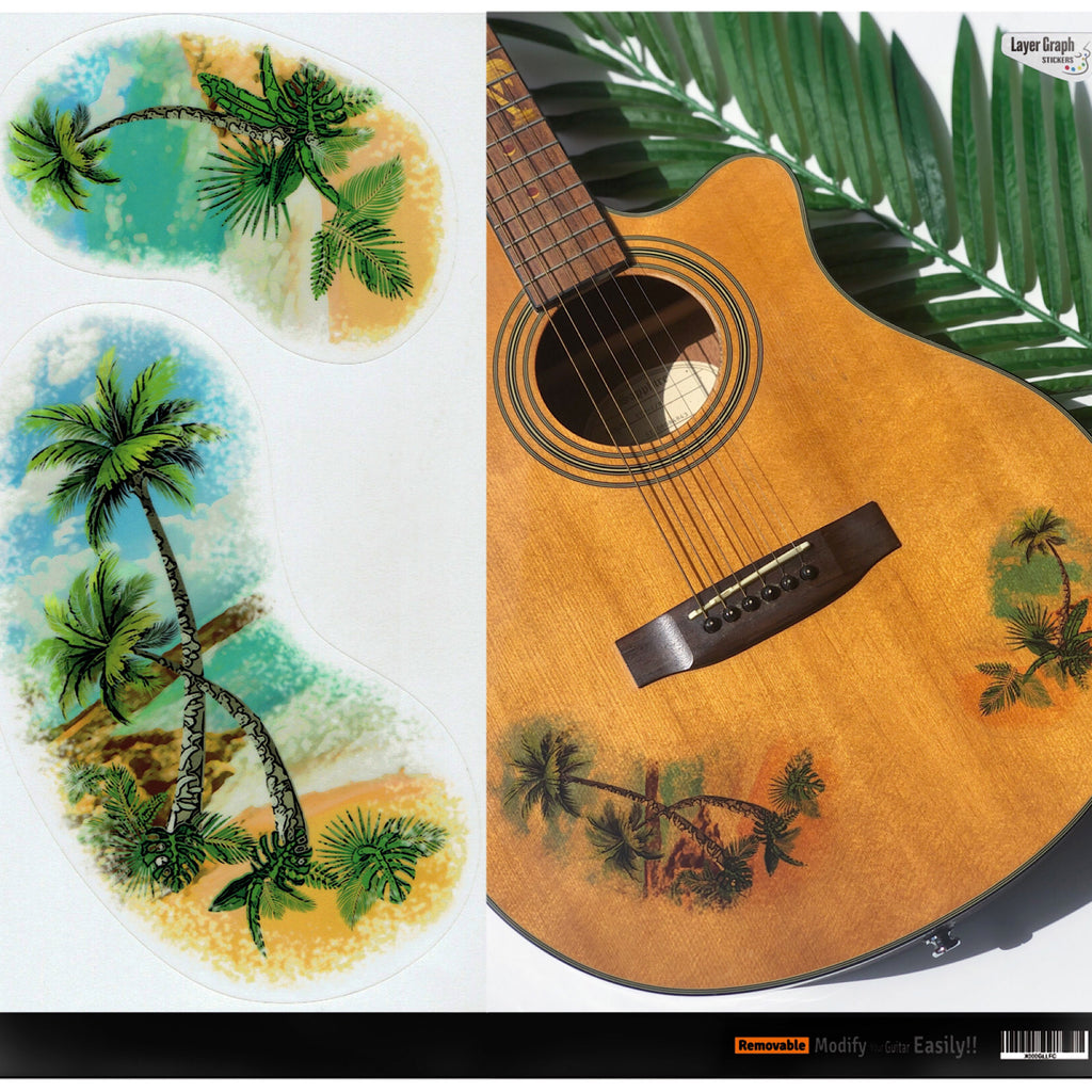 Vintage Palm Trees - Layer Graph Stickers - Inlay Stickers Jockomo