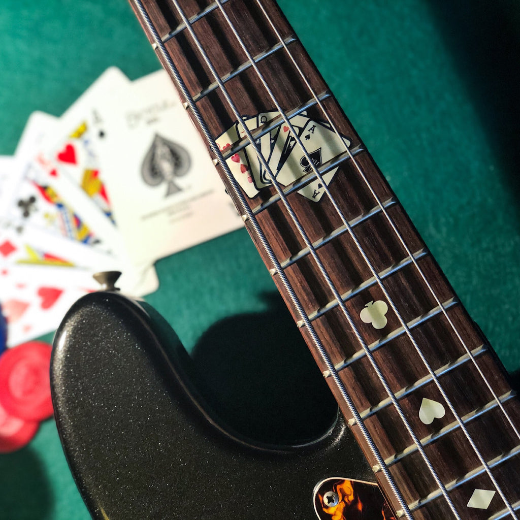 Playing Cards - Fret Markers for Bass - Inlay Stickers Jockomo