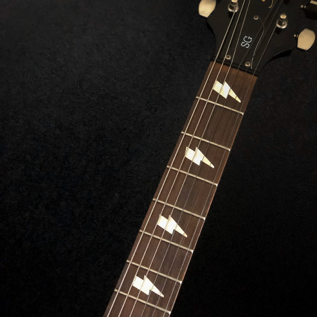AC/DC Angus Lightning Bolt - Fret Markers Inlay Stickers for Guitars