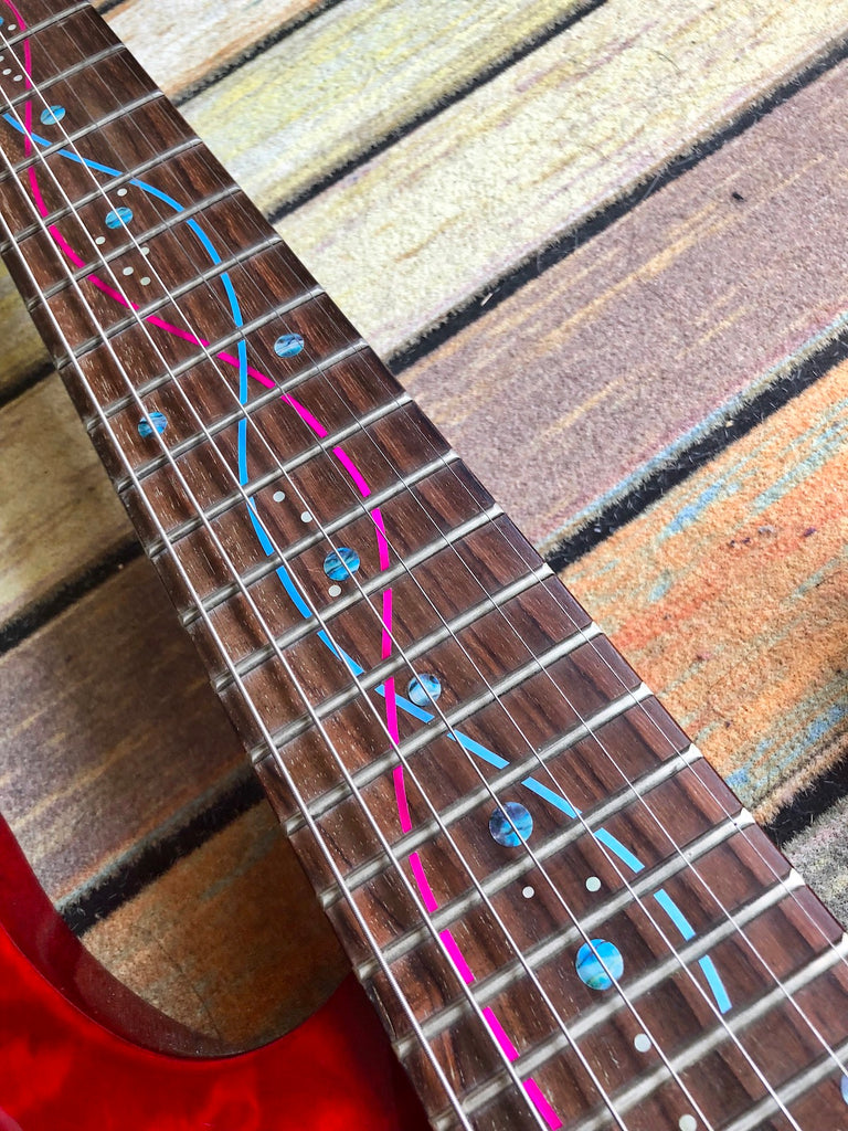 DNA Lines / Steve Vai - Inlay Stickers Jockomo