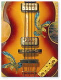 American Eagle Inlay Stickers Decals Guitar Bass