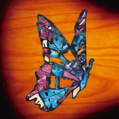 Fairy Butterfly Inlay Sticker