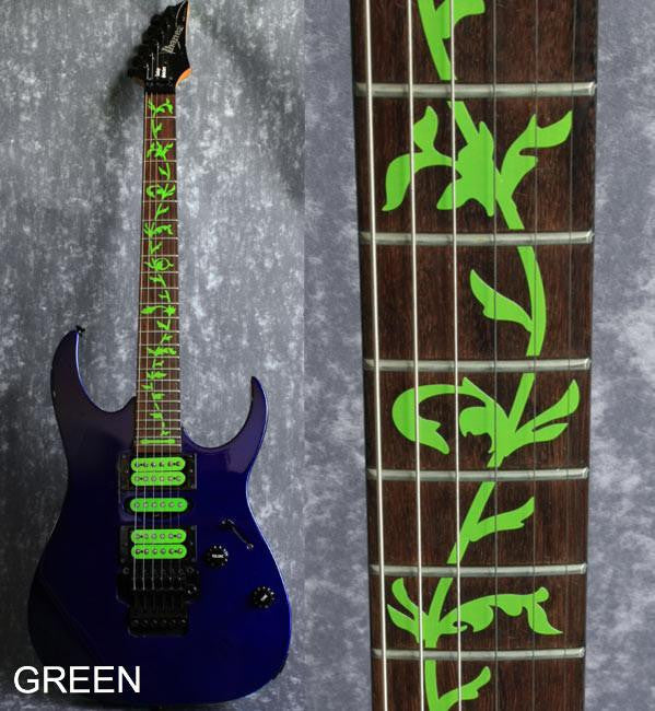 Tree Of Life (Colored) Fret Markers  Inlay Stickers Decals For Guitar - Inlay Stickers Jockomo