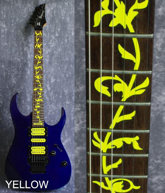 Tree Of Life (Colored) - Fret Markers  Inlay Stickers Decals for Guitars - Inlay Stickers Jockomo