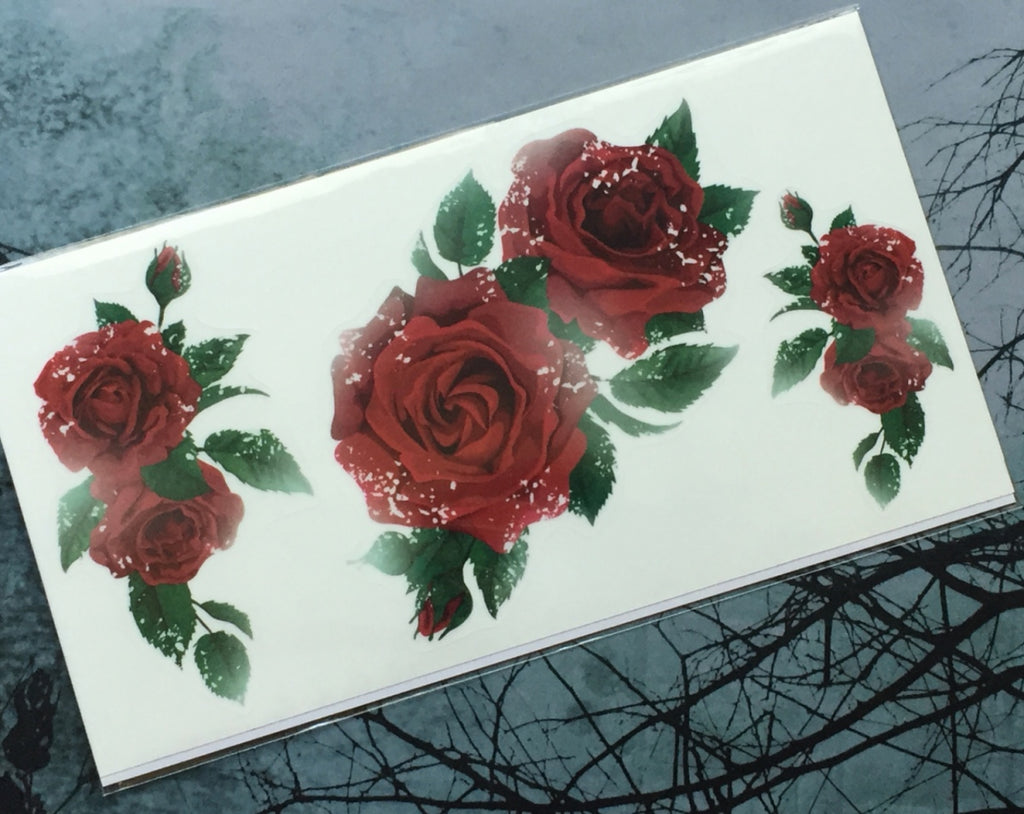 Layer Graph Sticker / English Rose - Inlay Stickers Jockomo