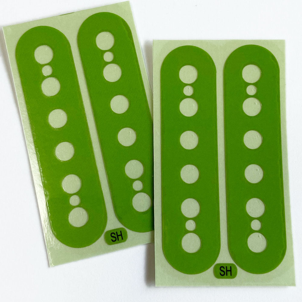 Pickup Stickers for Humbucker // Seymore Duncan SH-1