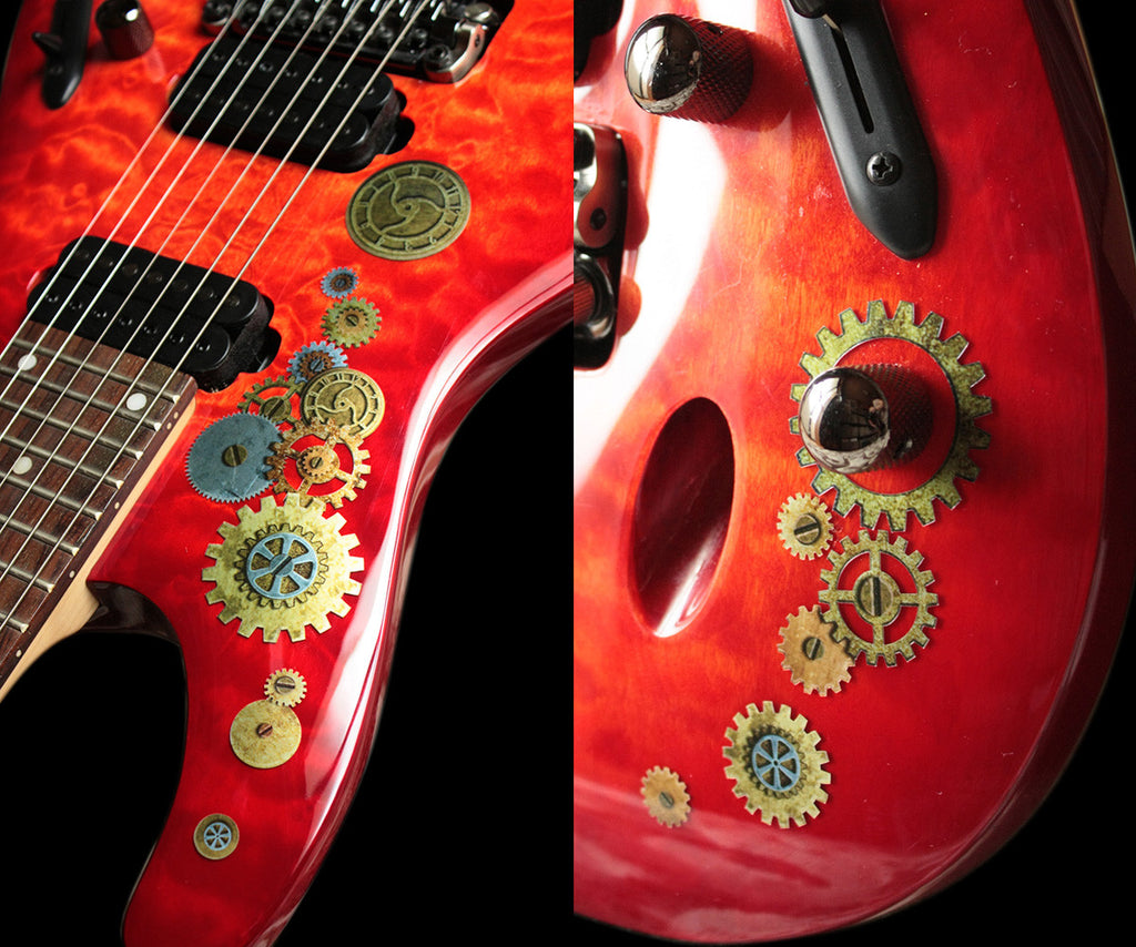 Steampunk Gears Set - Inlay Stickers Jockomo