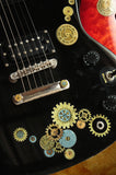 Steampunk Gear Set Inlay Stickers Decals