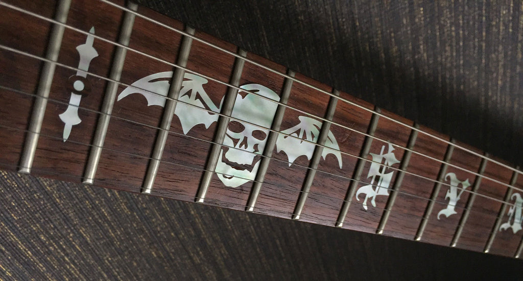"Synyster Gates ""SYN"" & Death Bat - Inlay Stickers Jockomo"
