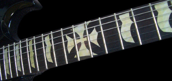 Hetfield (Metallica) Iron Cross - Inlay Stickers Jockomo