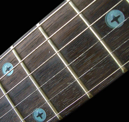 Rusty Screws Fret Markers  Inlay Sticker For Guitar Bass - Inlay Stickers Jockomo