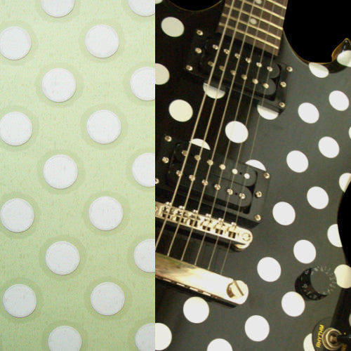 Randy Rhoads Polka Dots Stickers Decals Sheet