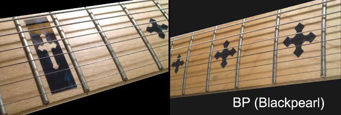 Cross - Fret Markers Inlay Stickers - Inlay Stickers Jockomo