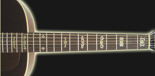Deluxe#1 Fret Markers  Inlay Stickers Decals - Inlay Stickers Jockomo