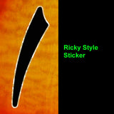 F-hole Ricky style Inlay Stickers Decals