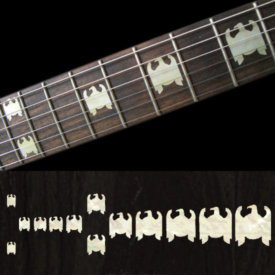 Eagles / Jeff Hanneman Type Fret Markers Inlay Stickers Decals - Inlay Stickers Jockomo