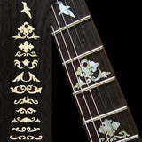 Jerry Garcia Wolf Fret Markers Inlay Stickers Decals Guitar