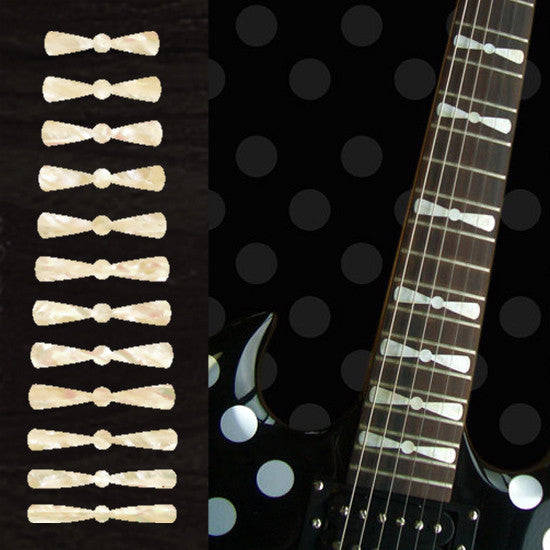 Randy Rhoads Bow Tie - Inlay Stickers Jockomo