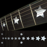 Star (Metallic Type) Fret Markers Inlay Stickers Decals
