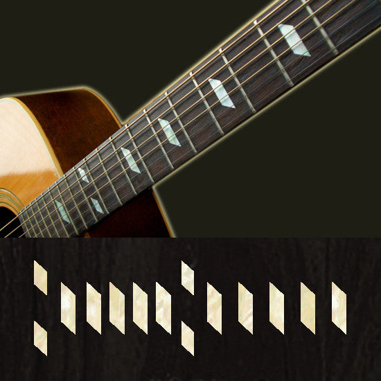 Paul McCartney's Texan - Fret Markers Inlay Stickers for Guitars - Inlay Stickers Jockomo