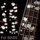SAKURA Tree/For BASS Fret Markers Fret Markers Inlay Stickers