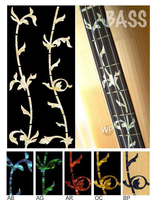 TREE OF LIFE/For BASS Fret Marker Inlay Stickers Decals