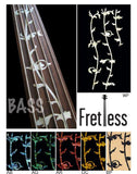 Tree Of Life /for Fretless Bass Inlay Stickers Decals