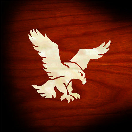 Jerry Garcia's Eagle (White Pearl) - Inlay Stickers Jockomo
