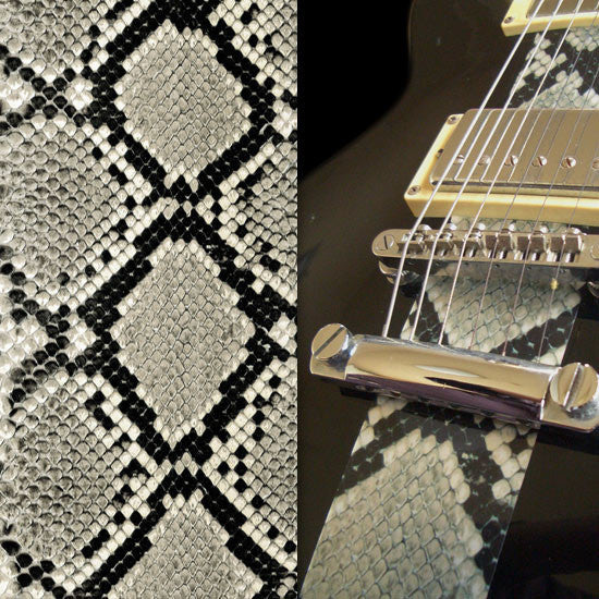 Faux-Leather Sticker /Snake Skin (Gray) - Inlay Stickers Jockomo