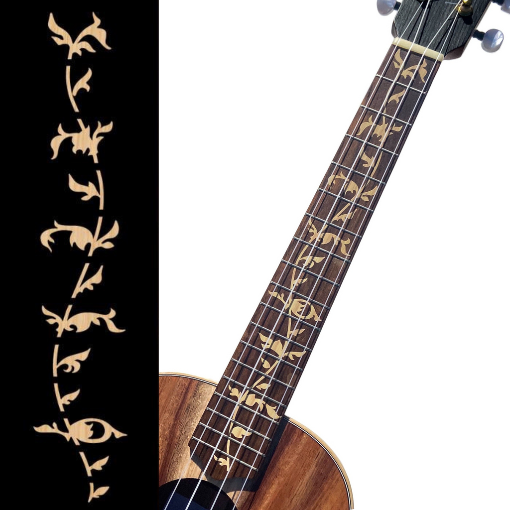 Tree of Life (Wood) - Fret Markers for Ukuleles