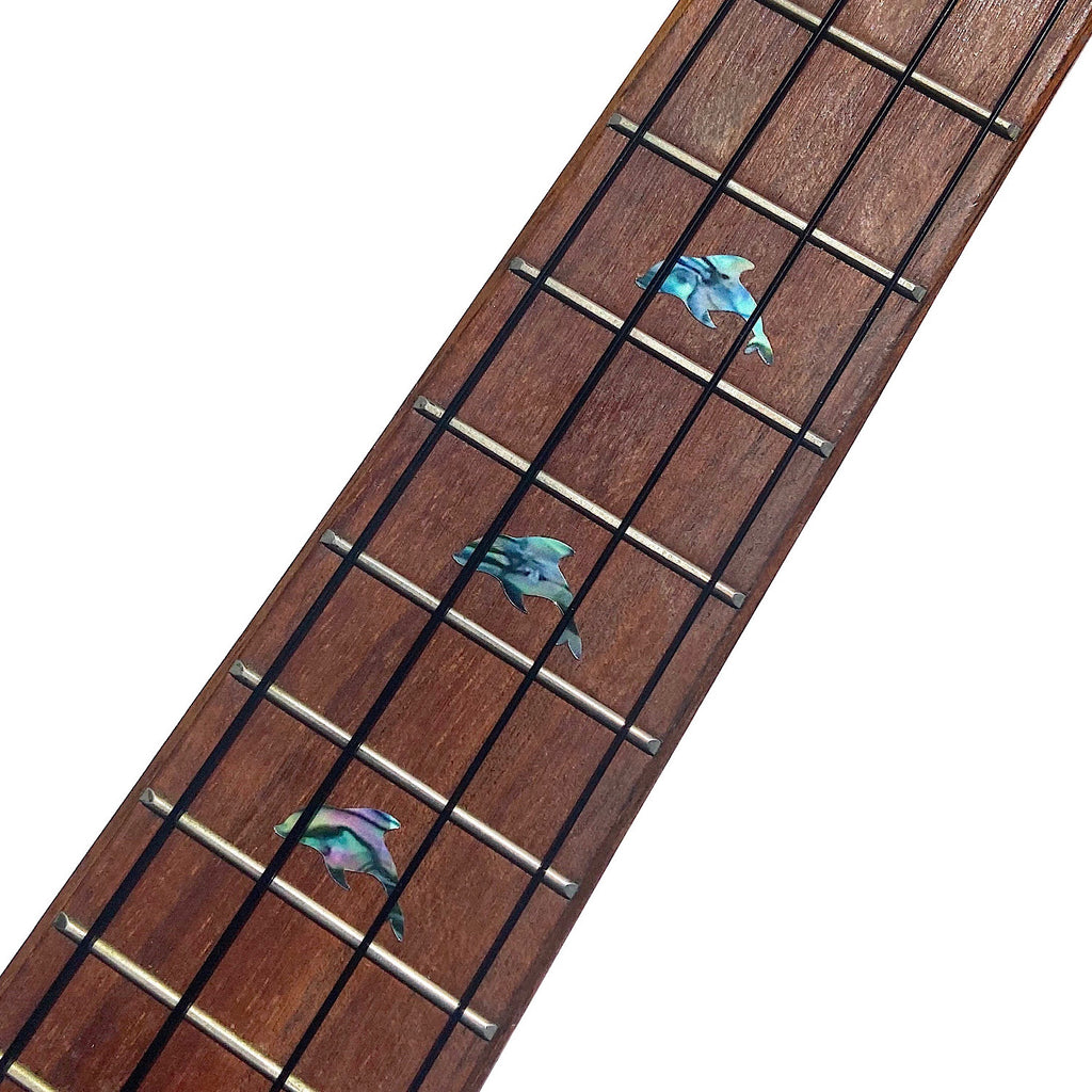 Dolphins - Fret Markers for Ukuleles - Inlay Stickers Jockomo