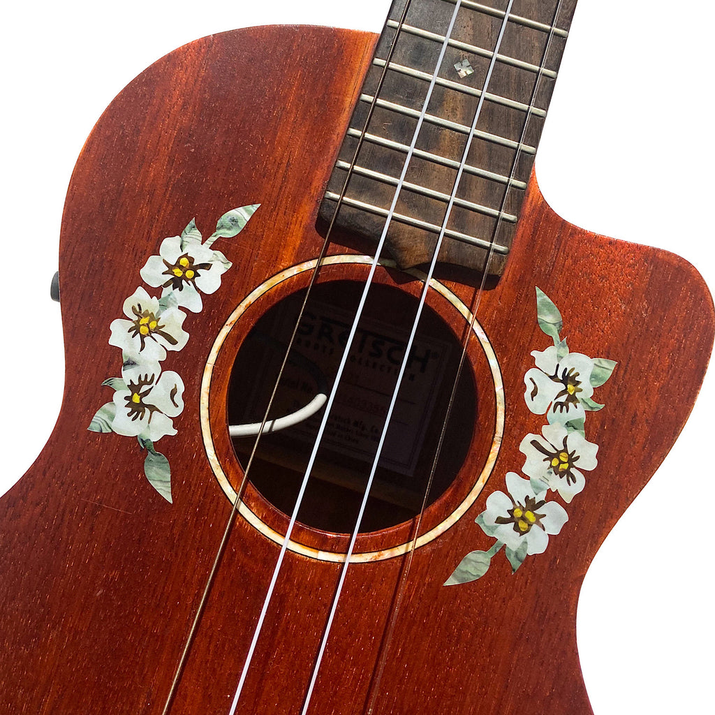 Hibiscus Flowers - Inlay Stickers Jockomo
