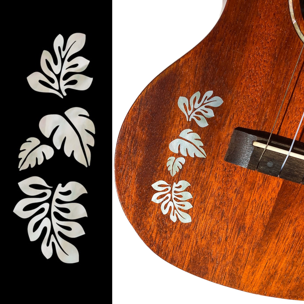 Tropical Monstera Leaves - Inlay Stickers Jockomo