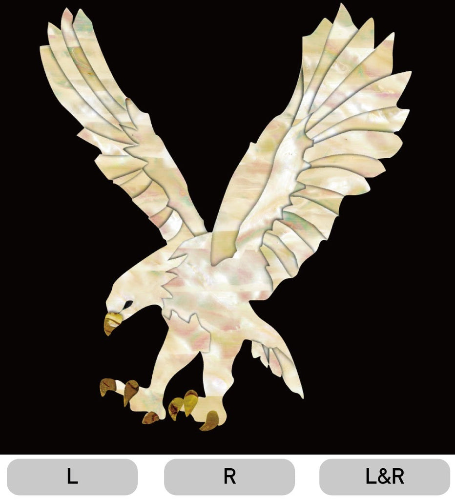 White Eagle - Inlay Stickers Jockomo