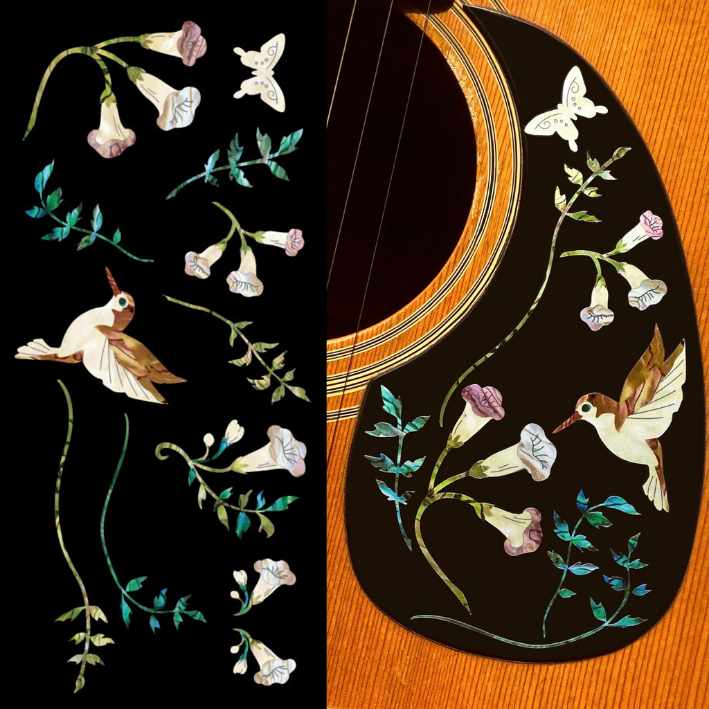 Assorted Hummingbird - Inlay Stickers Jockomo