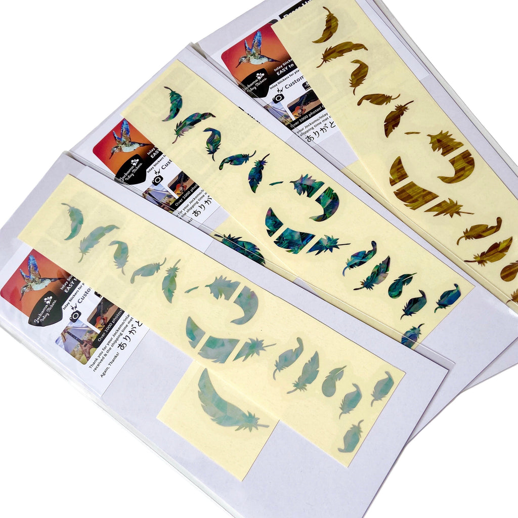 Flight Feathers - Inlay Stickers Jockomo
