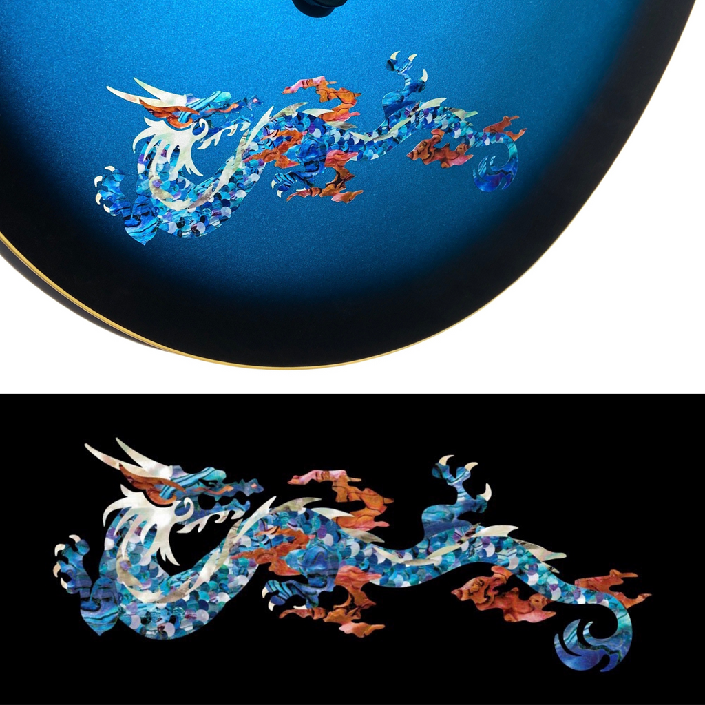 Fire Dragon - Abalone Blue