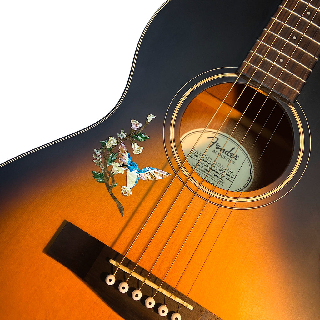 Hummingbird DX 1/4 - Inlay Stickers Jockomo