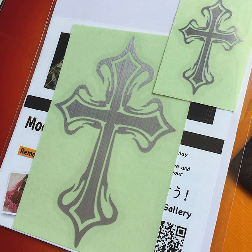 Metallic Tribal Crosses (Large & Small)