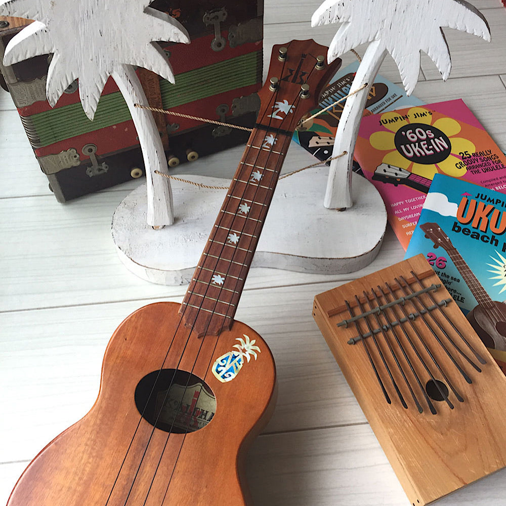 Palm Trees - Fret Markers for Ukuleles