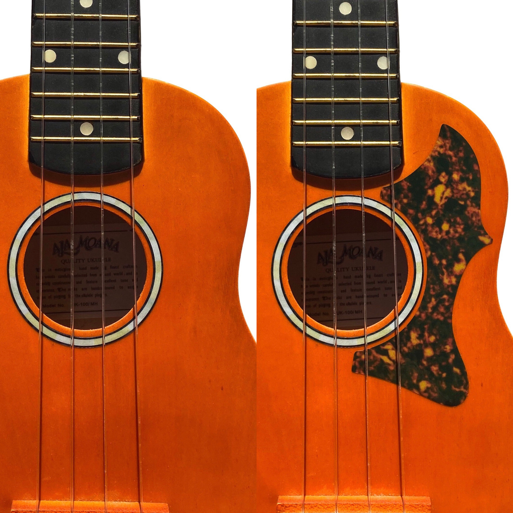 Pickguard Sticker (Amber) for Ukuleles