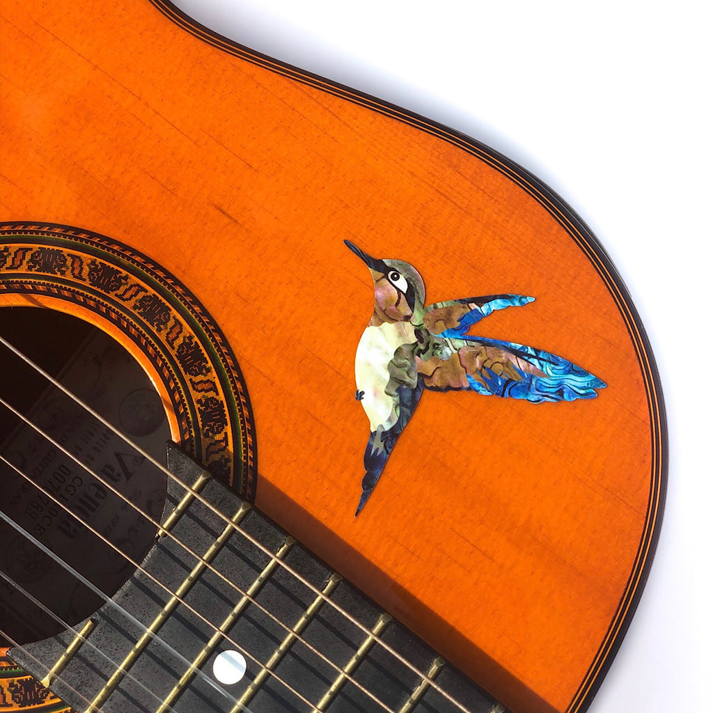 Hummingbird - Inlay Stickers Jockomo