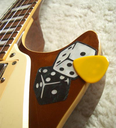 "Picks On Stickers ""Pick Holder"" Dice 2sheets/pack - Inlay Stickers Jockomo"