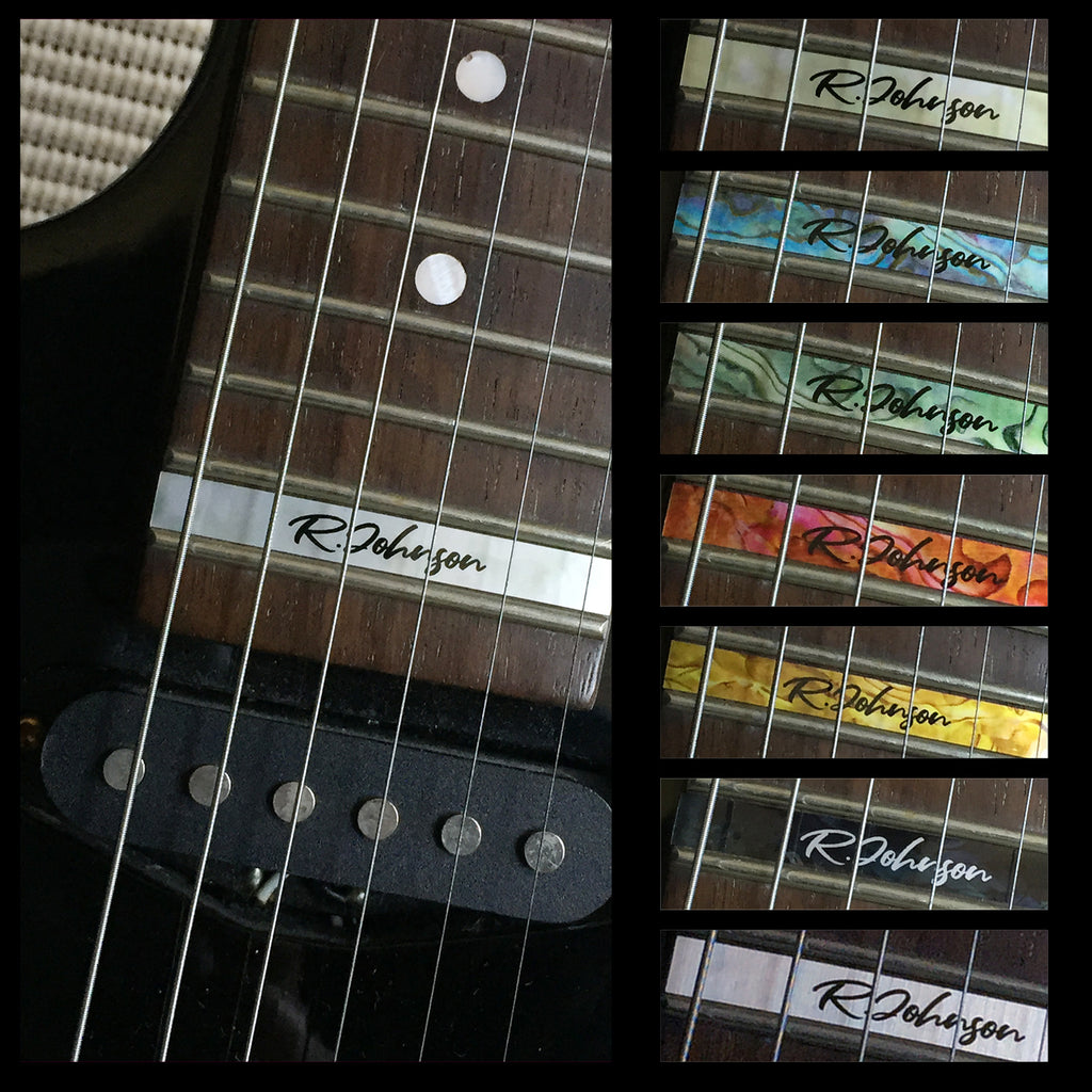 Custom-Made 24th Fret Marker for Guitars - Inlay Stickers Jockomo