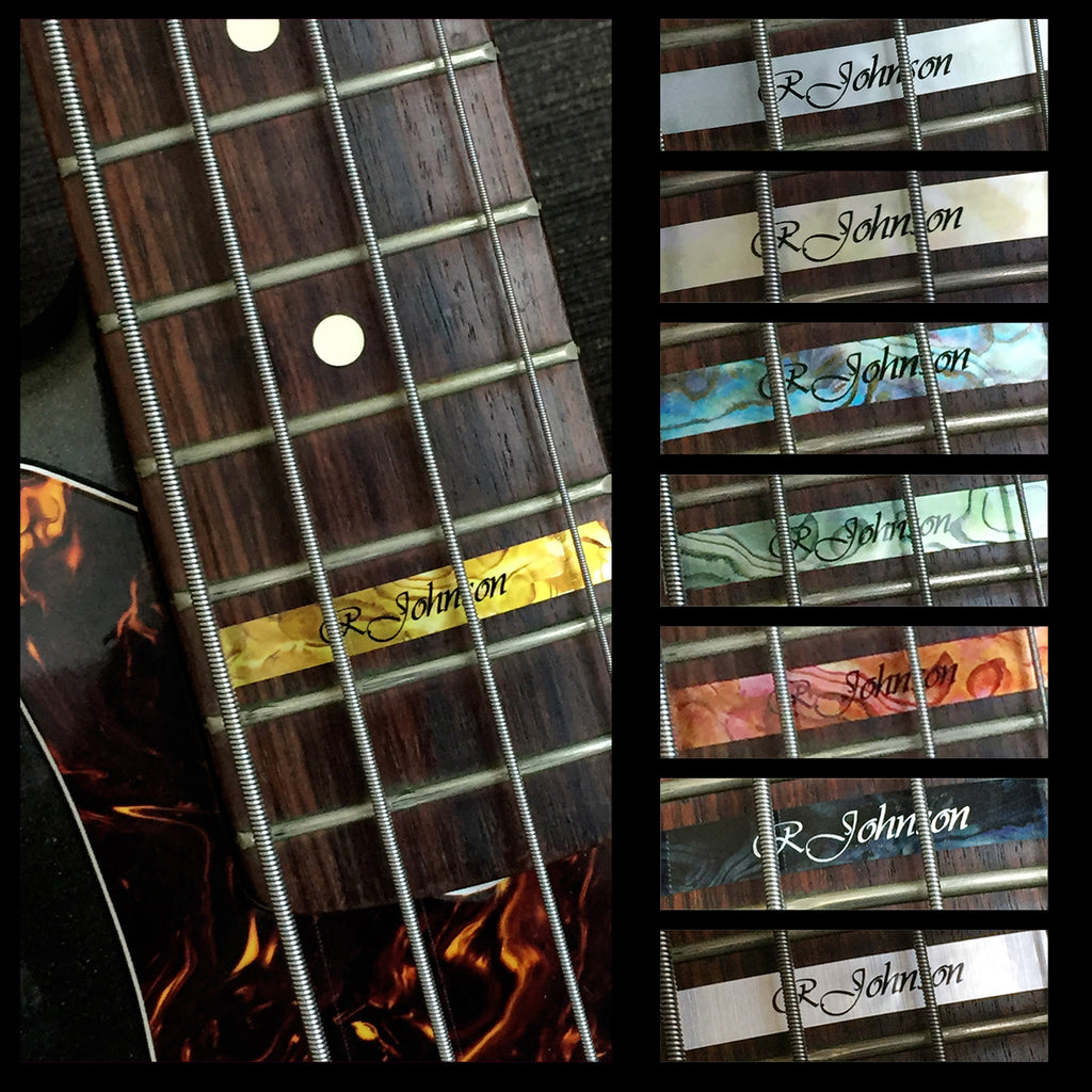Custom-Made High Position Fret Marker For BASS - Inlay Stickers Jockomo