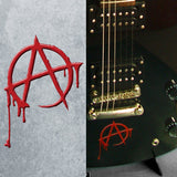 Bloody Anarchy Inlay Stickers Decals Guitar Bass