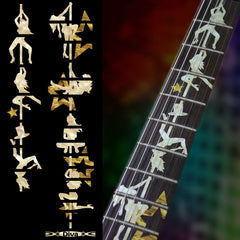 DIVA Pole Dance Girls Fret Markers Inlay Stickers Decals Guitar